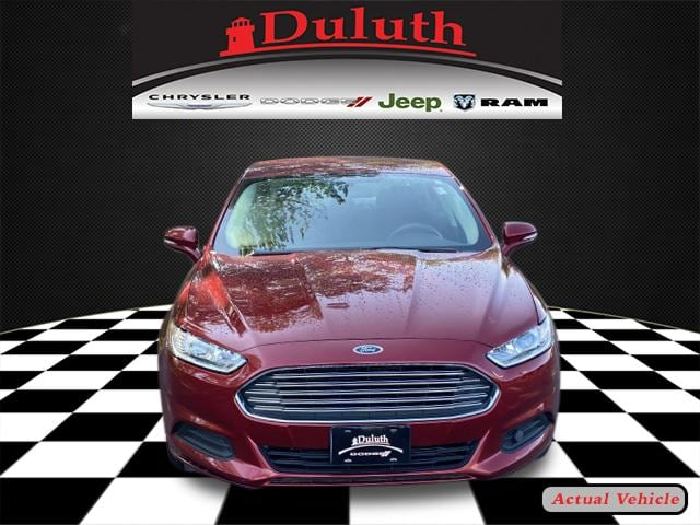 Used 2016 Ford Fusion SE with VIN 3FA6P0H7XGR341784 for sale in Hermantown, Minnesota