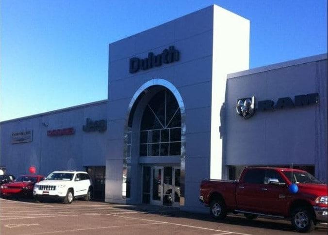 Cab Duluth Mn >> New Jeep, RAM, Dodge, Chrysler and Used Car Dealer Serving Duluth