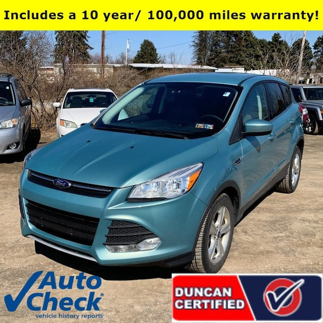Discounted bargain used vehicle 2013 Ford Escape SE 4WD SUV for sale near you in Roanoke, VA