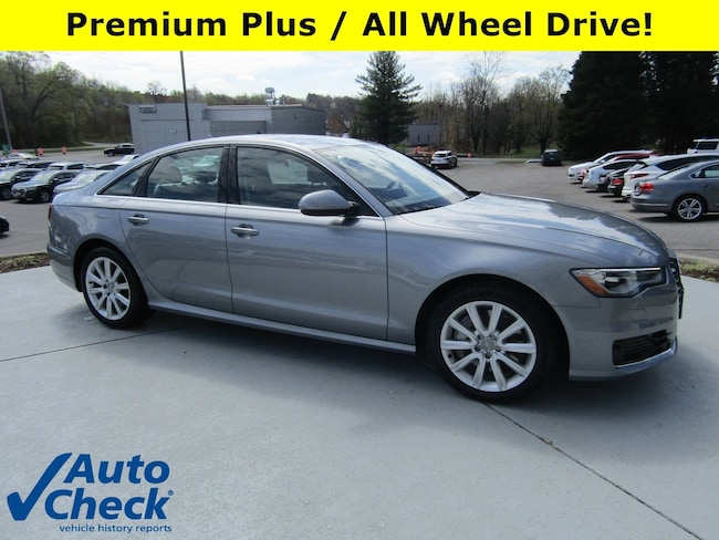 Used vehicles 2016 Audi A6 2.0T Premium Sedan for sale near you in Roanoke, VA