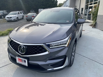Featured Used 2021 Acura RDX Technology Package SUV for sale near you in Roanoke, VA