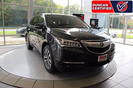 Featured Used 2016 Acura MDX 3.5L w/Technology & Entertainment Pkgs SUV for sale near you in Roanoke, VA