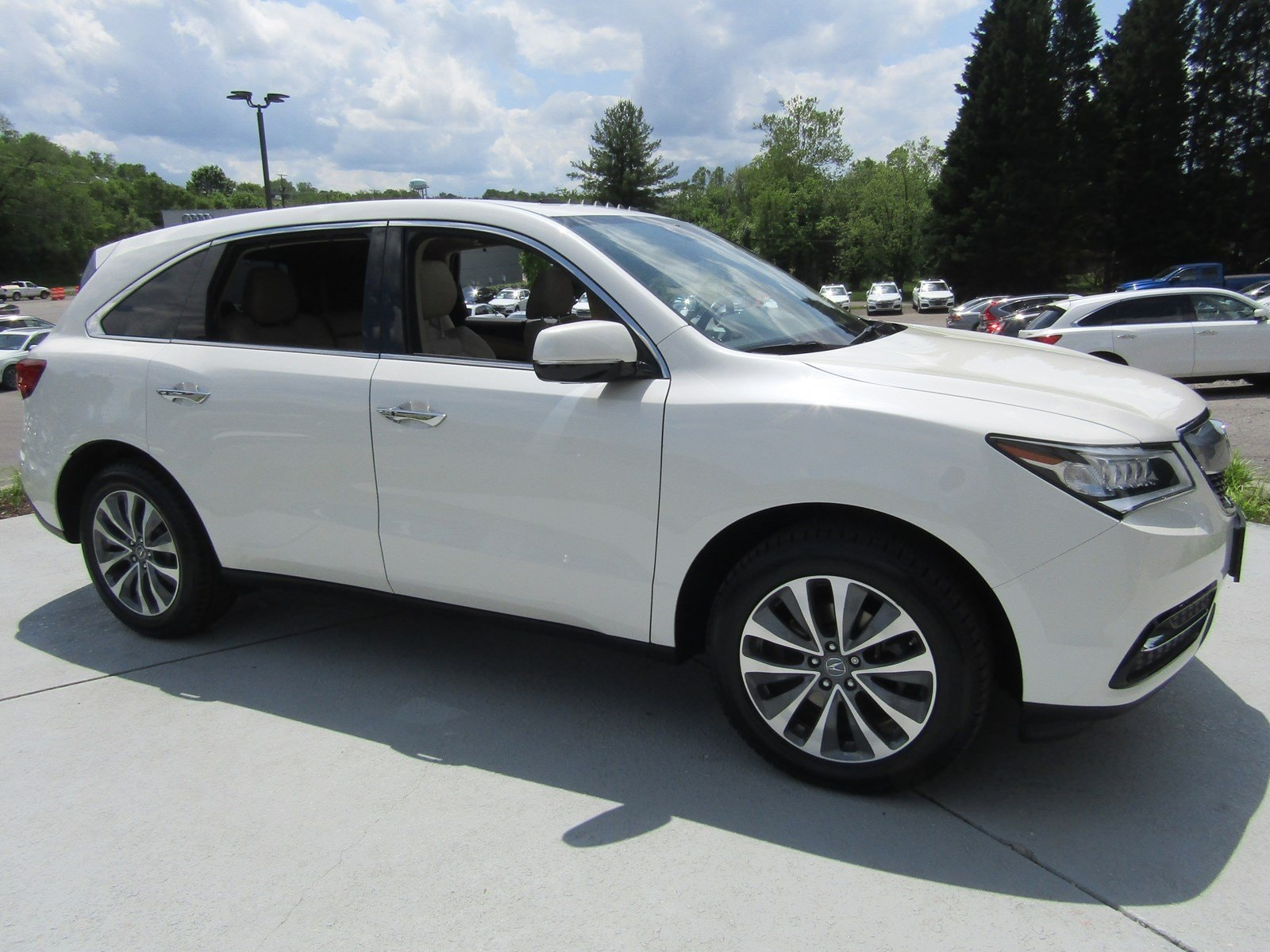 Featured Pre Owned 2016 Acura MDX MDX SH-AWD with Technology and Entertainment Packages SUV for sale near you in Roanoke, VA