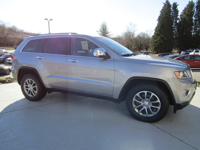 Used vehicles 2015 Jeep Grand Cherokee Limited 4x4 SUV for sale near you in Roanoke, VA