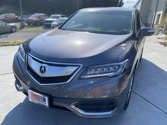 Used vehicles 2018 Acura RDX V6 AWD with Technology Package SUV for sale near you in Roanoke, VA