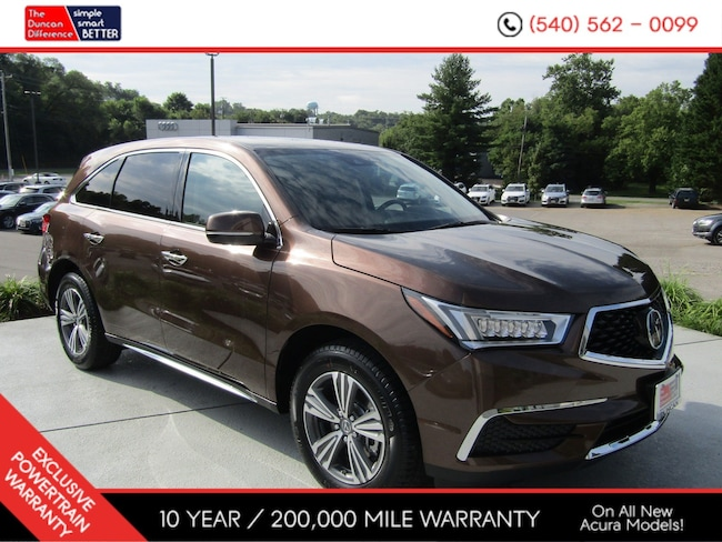 New Acura vehicle 2019 Acura MDX SH-AWD SUV for sale near you in Roanoke, VA