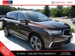 New 2019 Acura MDX SH-AWD with Technology Package SUV for sale near you in Roanoke, VA