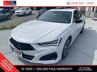 New 2021 Acura TLX SH-AWD with Advance Package Sedan for sale near you in Roanoke, VA
