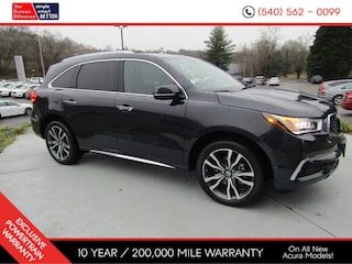 New 2019 Acura MDX SH-AWD with Advance Package SUV for sale near you in Roanoke, VA