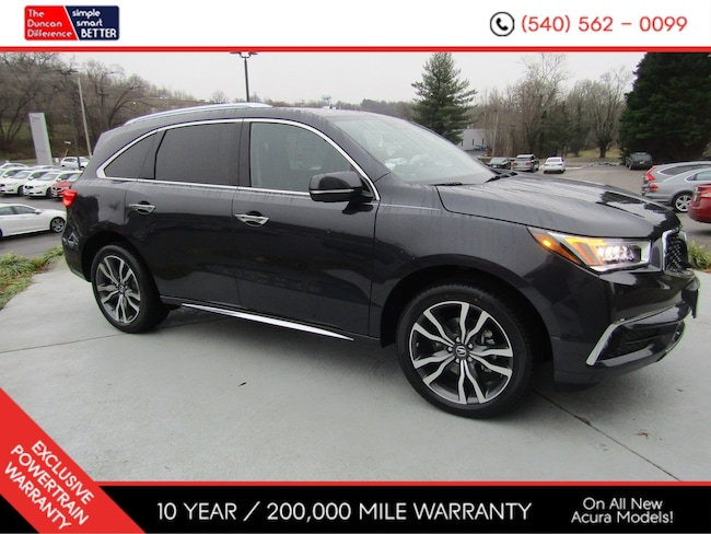 New Acura vehicle 2019 Acura MDX SH-AWD with Advance Package SUV for sale near you in Roanoke, VA