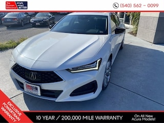 New 2021 Acura TLX SH-AWD with Technology Package Sedan for sale near you in Roanoke, VA