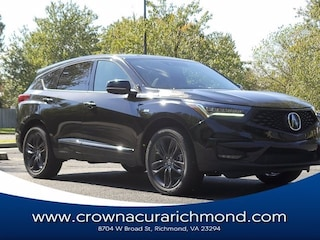 New 2021 Acura RDX SH-AWD with A-Spec Package SUV for sale near you in Roanoke, VA