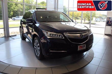 Featured Used 2014 Acura MDX 3.5L Technology Package (A6) SUV for sale near you in Roanoke, VA