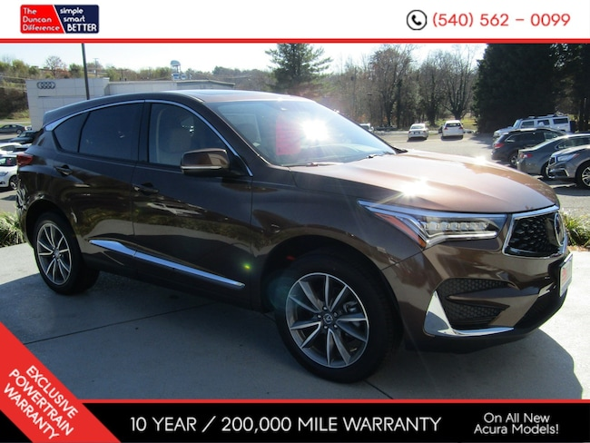 New Acura vehicle 2019 Acura RDX SH-AWD with Technology Package SUV for sale near you in Roanoke, VA