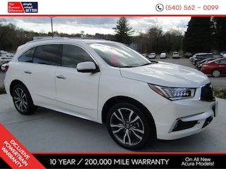 New Acura vehicles 2019 Acura MDX SH-AWD with Advance Package SUV for sale near you in Roanoke, VA