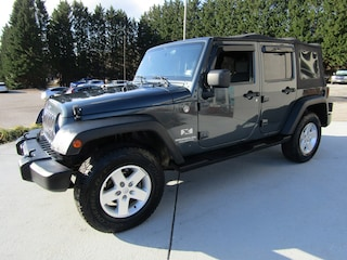 Used luxury SUVs 2007 Jeep Wrangler Unlimited X SUV for sale near you in Roanoke VA