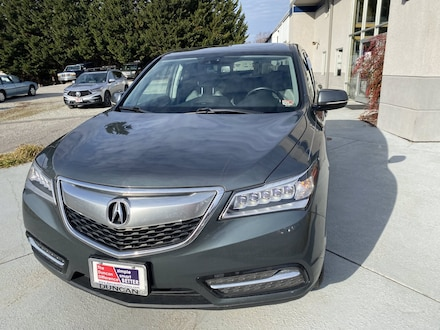 Featured Used 2015 Acura MDX 3.5L Technology Package (A6) SUV for sale near you in Roanoke, VA