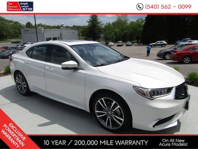 New Acura vehicle 2019 Acura TLX 3.5 V-6 9-AT SH-AWD with Technology Package Sedan for sale near you in Roanoke, VA