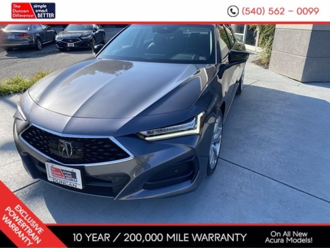 New Acura vehicle 2021 Acura TLX SH-AWD with Technology Package Sedan for sale near you in Roanoke, VA