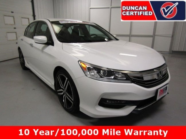 2016 Honda Accord Sedan Sport I4 CVT Sport
