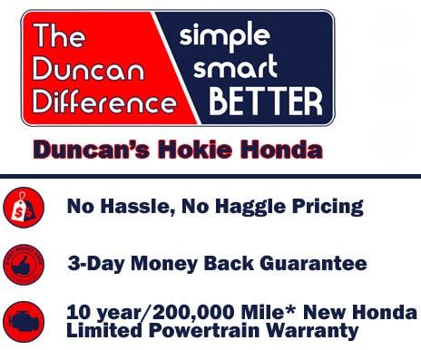 Smart Sales And Lease >> New Honda Sales Near Blacksburg Va Buy Or Lease A New Honda