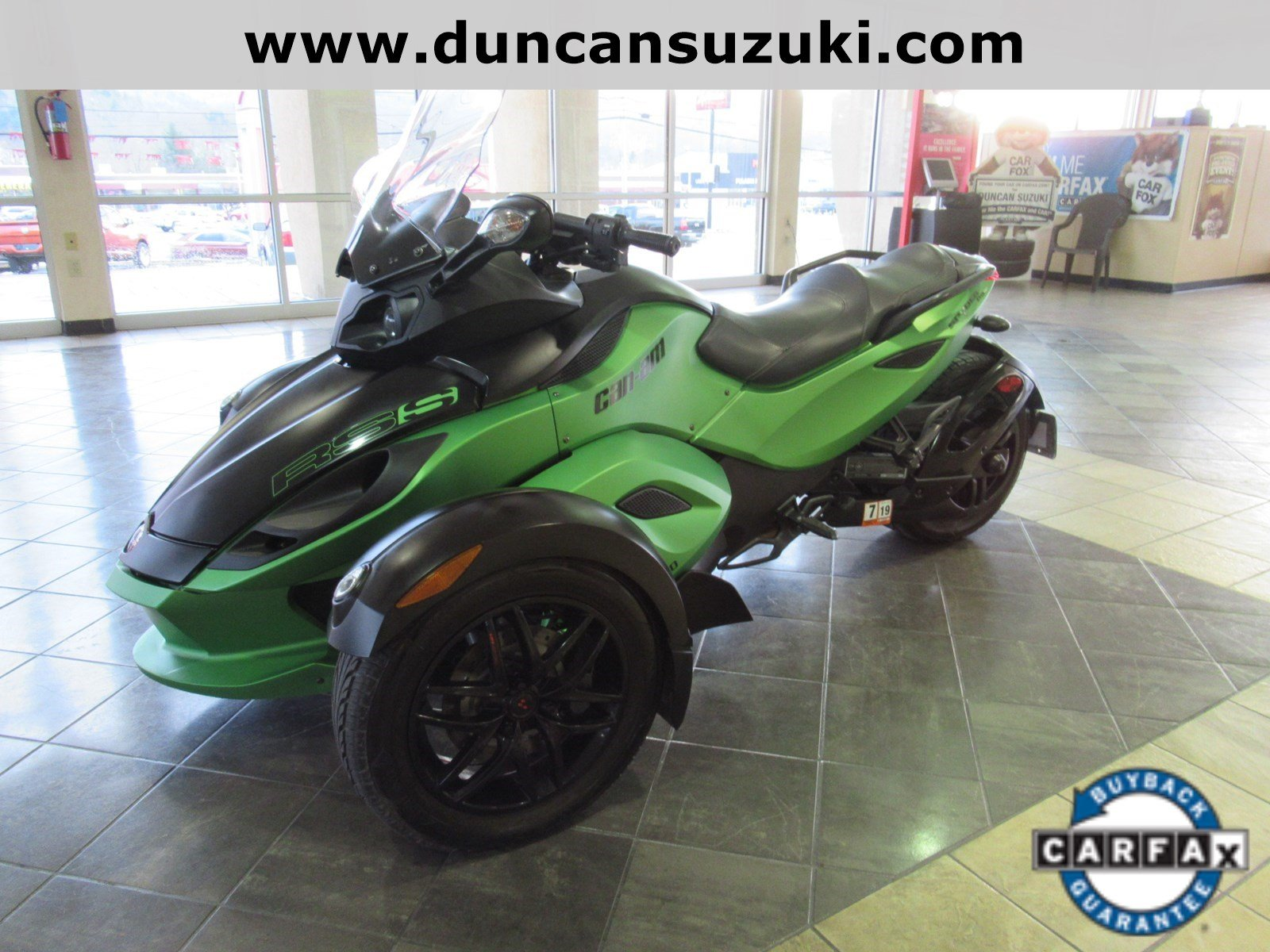 2012 CAN-AM Spyder RS-S 2012 CANAM SPYDER