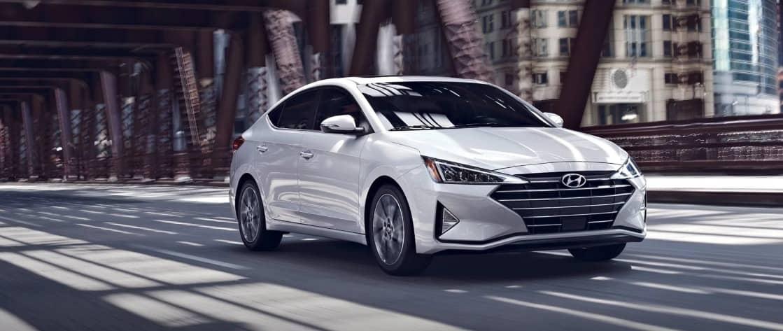 2019 Hyundai Elantra Limited in White