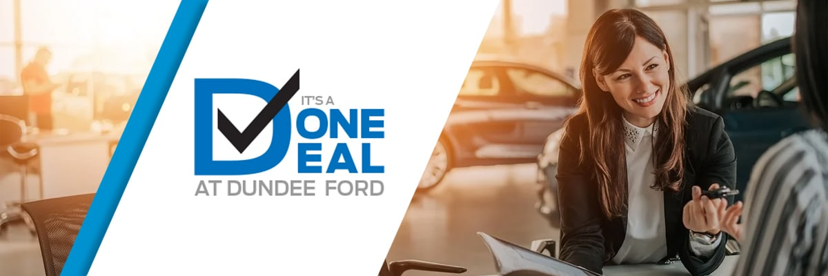 Why Buy from Dundee Ford