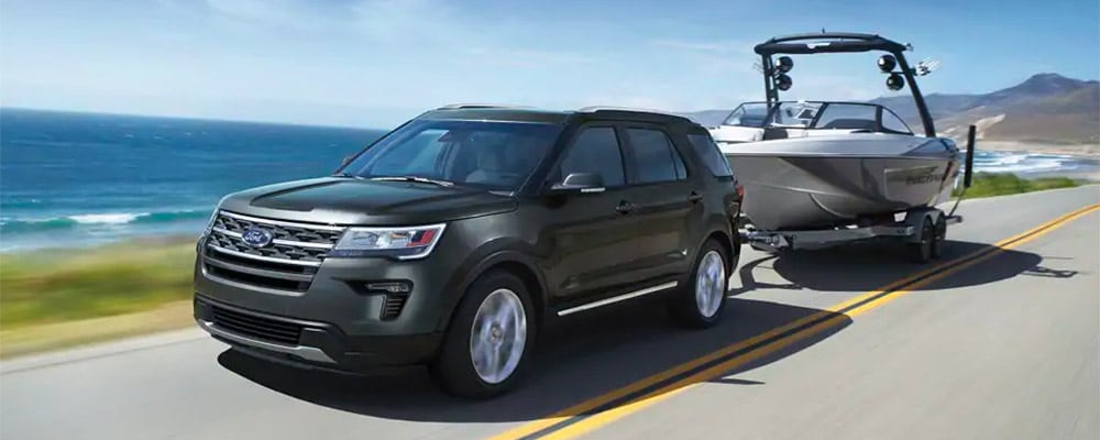 2019 Ford Explorer Towing Capacity Ford Suv Towing Specs Dundee Ford