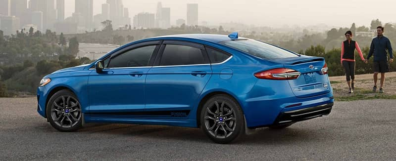 2019 Ford Fusion Blue
