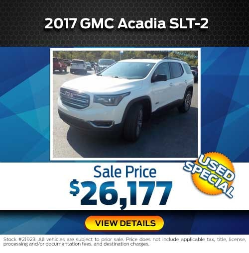 2017 GMC Acadia SLT-2 Special Offer