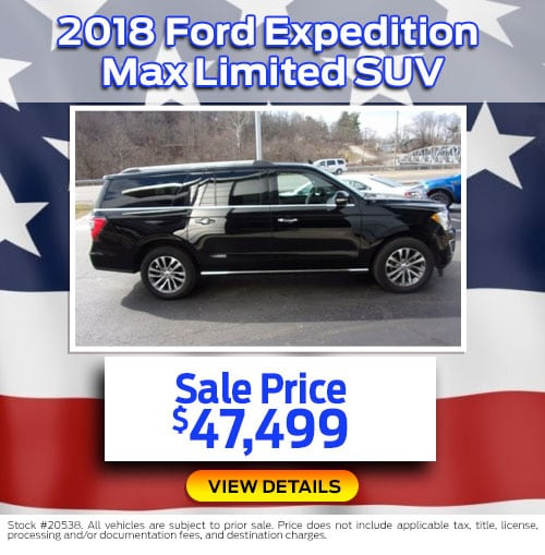 $47,499 Purchase Offer on a Used 2018 Ford Expedition Max Limited SUV