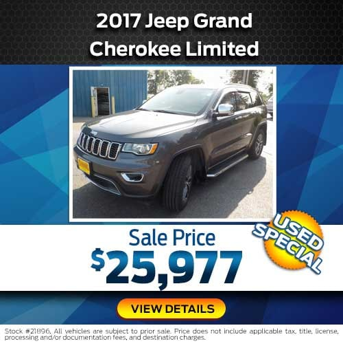 2017 Jeep Grand Cherokee Limited Special Offer