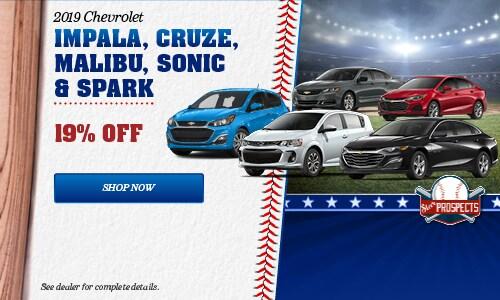 April | Impala Cruze Malibu Sonic Spark