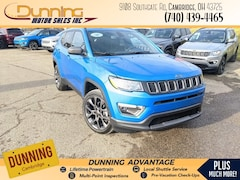 2021 Jeep Compass 80TH ANNIVERSARY 4X4 Sport Utility For Sale In Cambridge, OH