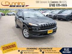 2018 Jeep Cherokee Sport SUV For Sale In Cambridge, OH