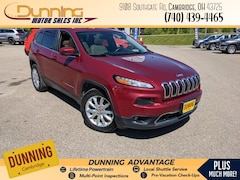 2015 Jeep Cherokee Limited FWD SUV For Sale In Cambridge, OH