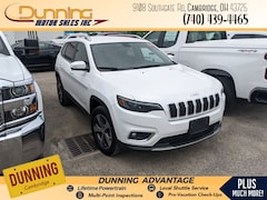 2019 Jeep Cherokee Limited 4x4 SUV For Sale In Cambridge, OH