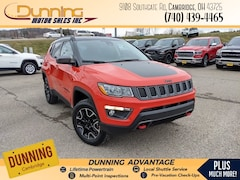 2021 Jeep Compass TRAILHAWK 4X4 Sport Utility For Sale In Cambridge, OH