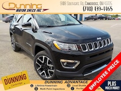 2020 Jeep Compass LIMITED 4X4 Sport Utility For Sale In Cambridge, OH