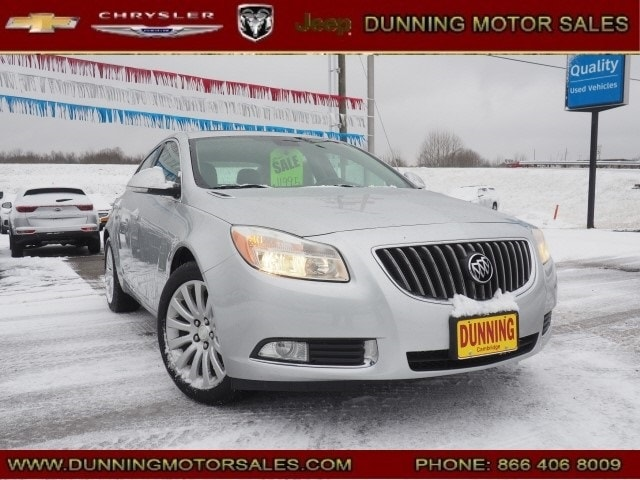 Used 2013 Buick Regal Turbo - Premium Sedan For Sale In Cambridge, OH