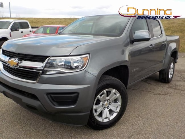 Used 2019 Chevrolet Colorado LT Truck Crew Cab For Sale in Cambridge, OH