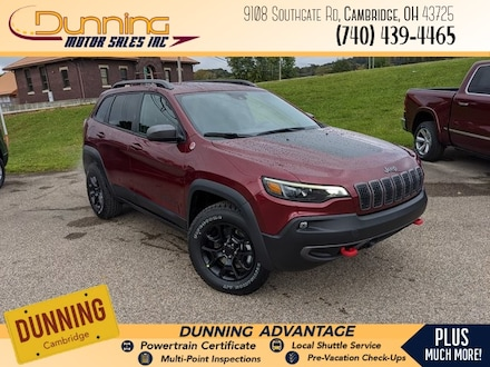 New 2021 Jeep Cherokee TRAILHAWK 4X4 Sport Utility for sale or lease in Cambridge, OH