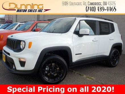 New 2020 Jeep Renegade ALTITUDE 4X4 Sport Utility for sale in Cambridge, OH