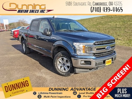 Used 2019 Ford F-150 Truck SuperCrew Cab for sale in Cambridge, OH