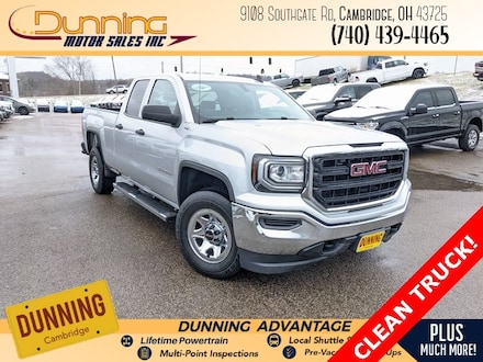 Used 2017 GMC Sierra 1500 Base Truck Double Cab for sale in Cambridge, OH
