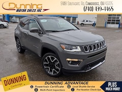 2021 Jeep Compass LIMITED 4X4 Sport Utility For Sale In Cambridge, OH