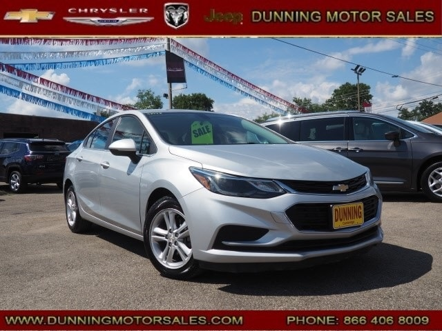 Used 2017 Chevrolet Cruze LT Auto Sedan For Sale In Cambridge, OH