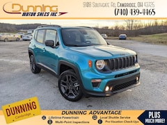 2021 Jeep Renegade 80TH ANNIVERSARY 4X4 Sport Utility For Sale In Cambridge, OH