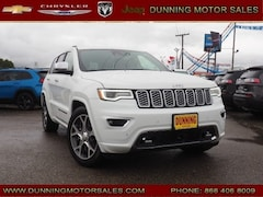 New 2019 Jeep Grand Cherokee OVERLAND 4X4 Sport Utility For Sale In Cambridge, OH